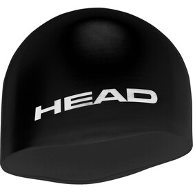 Head Silicone Moulded Berretto, black